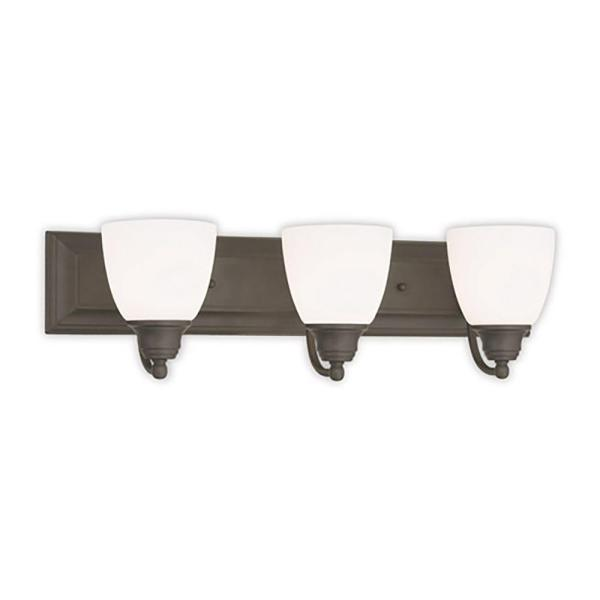 Springfield 3-Light Bronze Bath Vanity