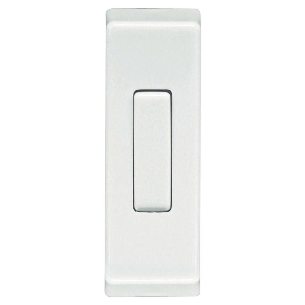 Heath Zenith Wired Gold Finish Lighted Push Button-DISCONTINUED