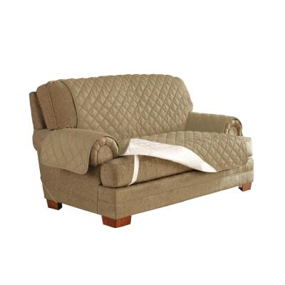 Camel Ultimate Waterproof Furniture Protector Treated with NeverWet Loveseat