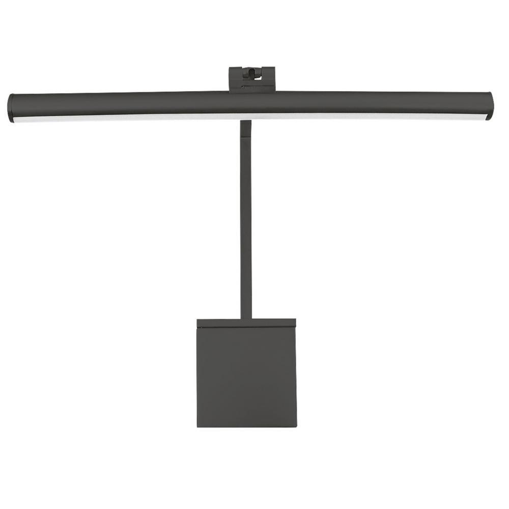 Vibe 15 in. Black LED Adjustable Picture Light, 2700K