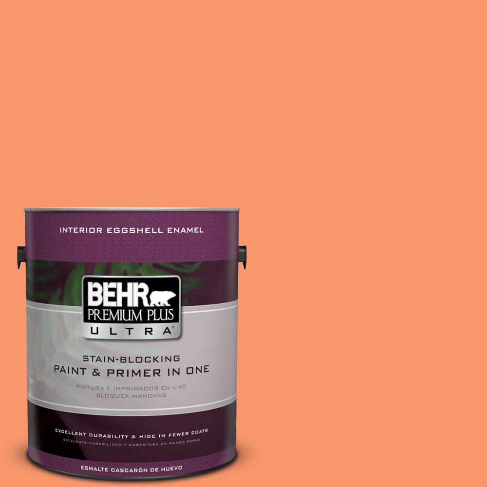 BEHR Premium Plus Ultra 1-gal. #220B-5 Autumn Arrival Eggshell Enamel Interior Paint