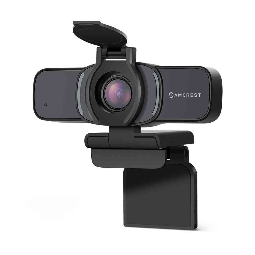 Amcrest ProHD 1080P Wired Webcam with Privacy Cover, USB Webcam - Sale: $49.99 USD (23% off)