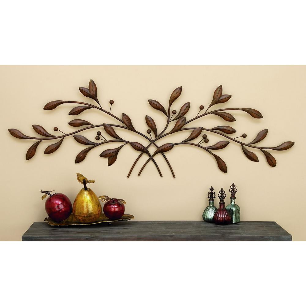 Metal Branch Wall Decor