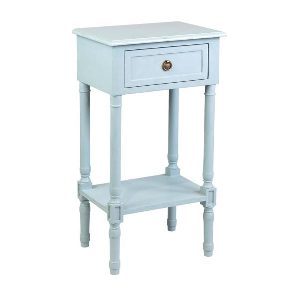 Lilith Light Blue Side Table
