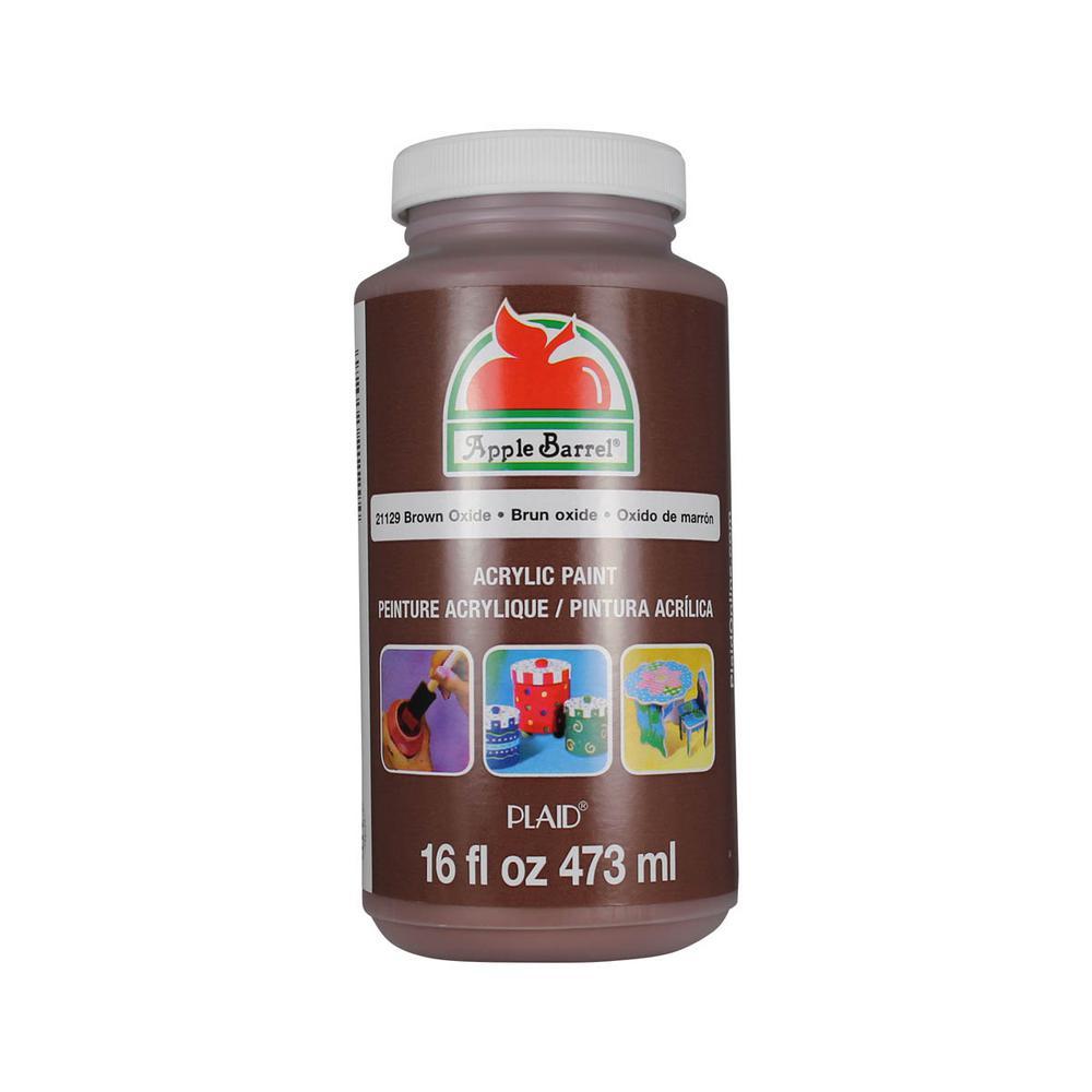 16 oz. Brown Oxide Acrylic Paint