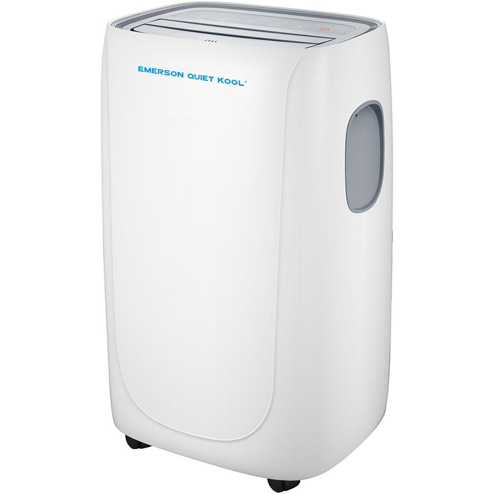 Emerson Quiet Kool 8000 Btu 5000 Btu Doe Smart Portable Air Conditioner With Remote Wi Fi And Voice Control For Rooms Up To 300 Sq Ft Eapc8rsd1 The Home Depot