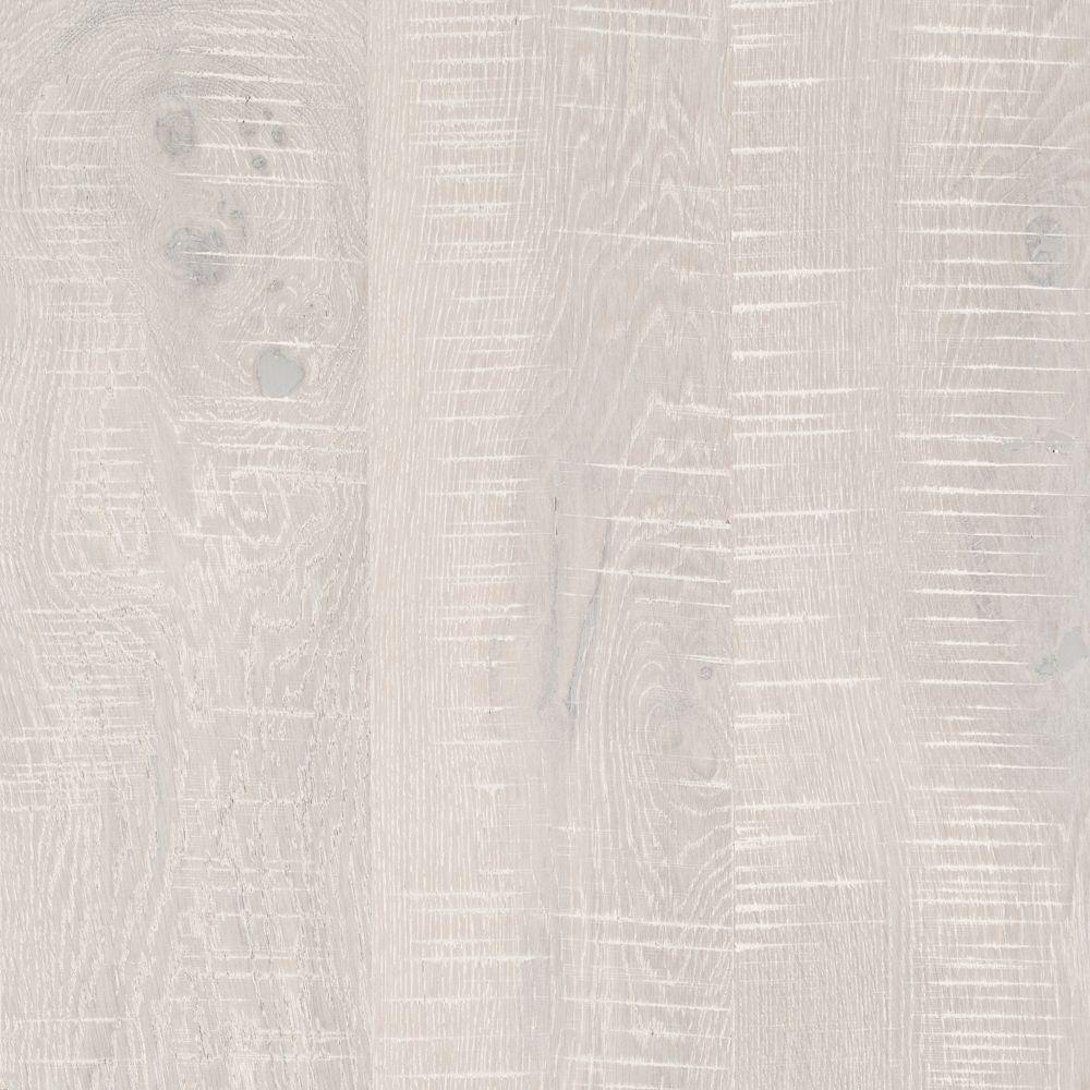 Take Home Sample - Elegant Home Arctic White Oak Engineered Hardwood Flooring - 5 in. x 7 in.
