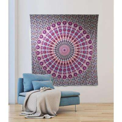 84.64 in x 92.52 in Shanaya Wall Tapestry