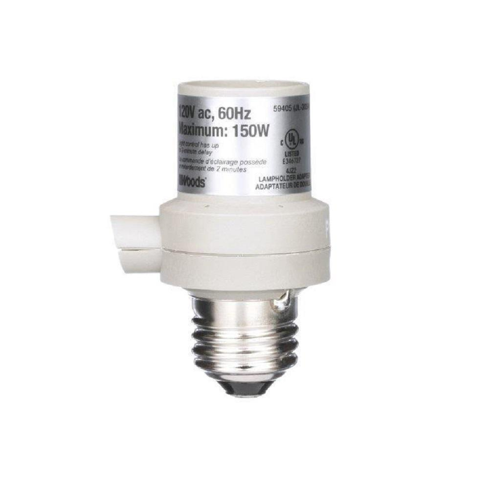 Woods 150-Watt Light Control With Photocell-59405WD