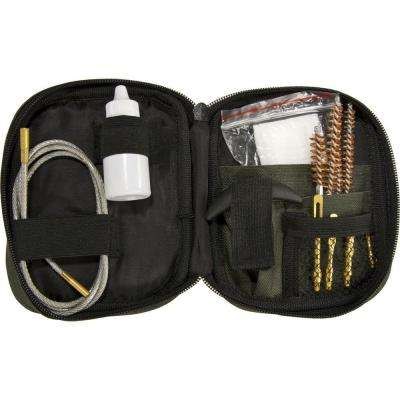 Rifle Cleaning Kit with Flexible Rod and Pouch