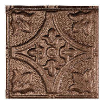 Jamestown Penny Vein 12 in. x 12 in. Nail-Up Ceiling Tile Sample