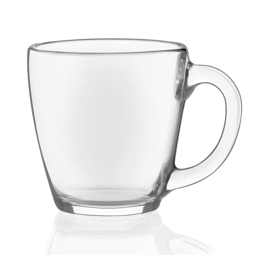 Libbey Tapered 8-piece Glass Mug Set