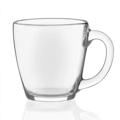 Tapered 8-piece Glass Mug Set