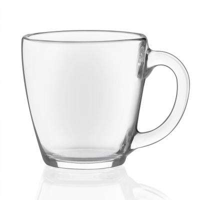 Tapered 15.5 oz. Glass Mug Set (Set of 8)