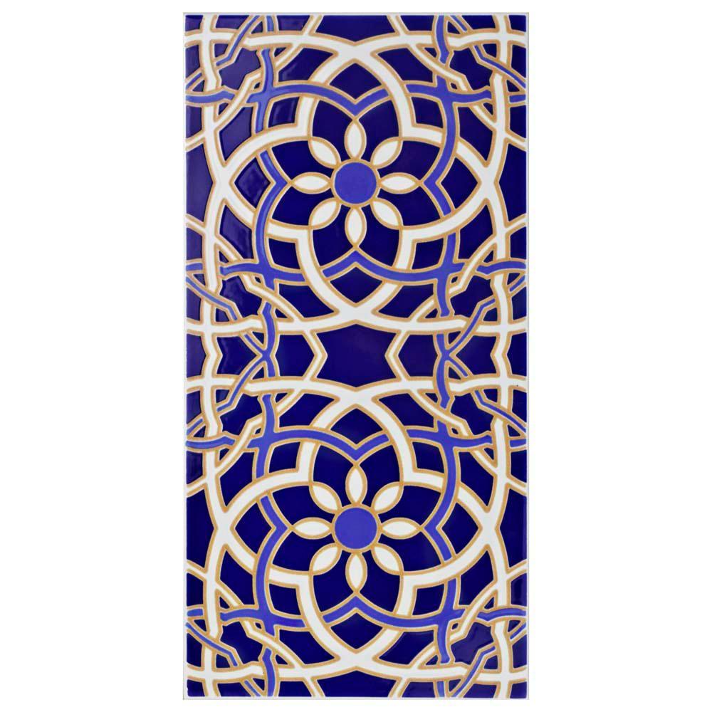 Artesanal Valentina 5-1/2 in. x 11 in. Ceramic Wall Tile (11.23 sq. ft. / case)