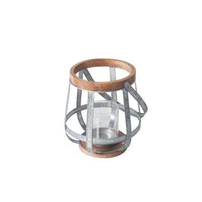 Small Size Outdoor Mixed Material Lantern