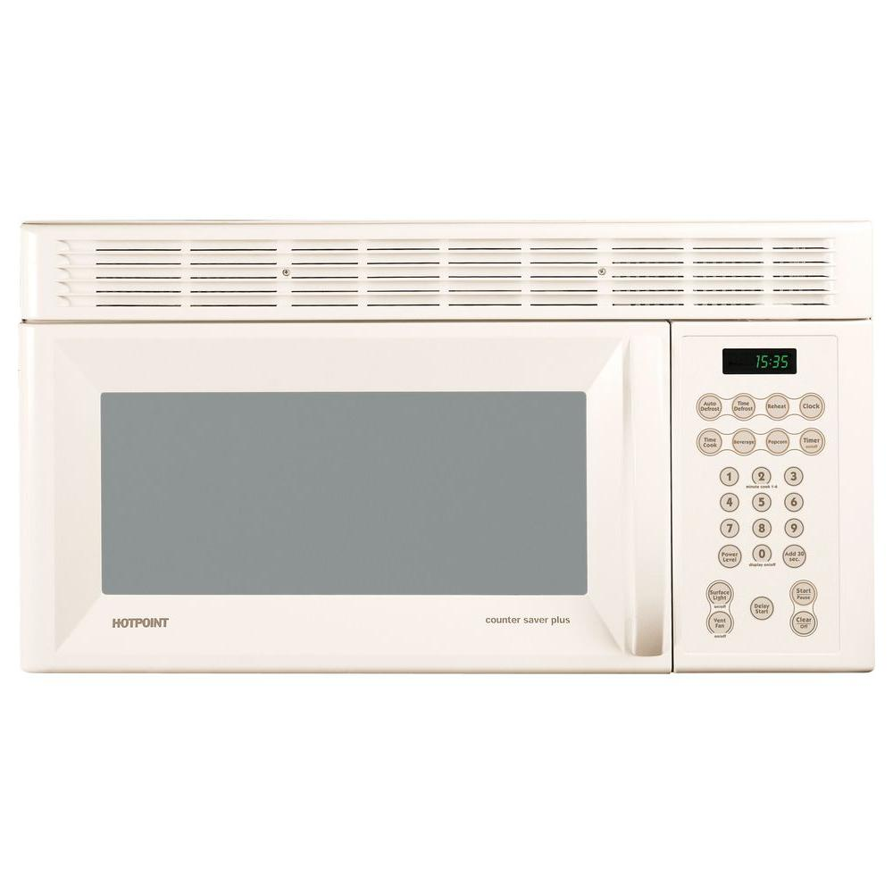 Hotpoint 1.5 cu. ft. Over-the-Range Microwave in Bisque