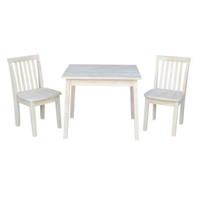 Ready To Finish 3 Piece Mission Juvenile Table Set