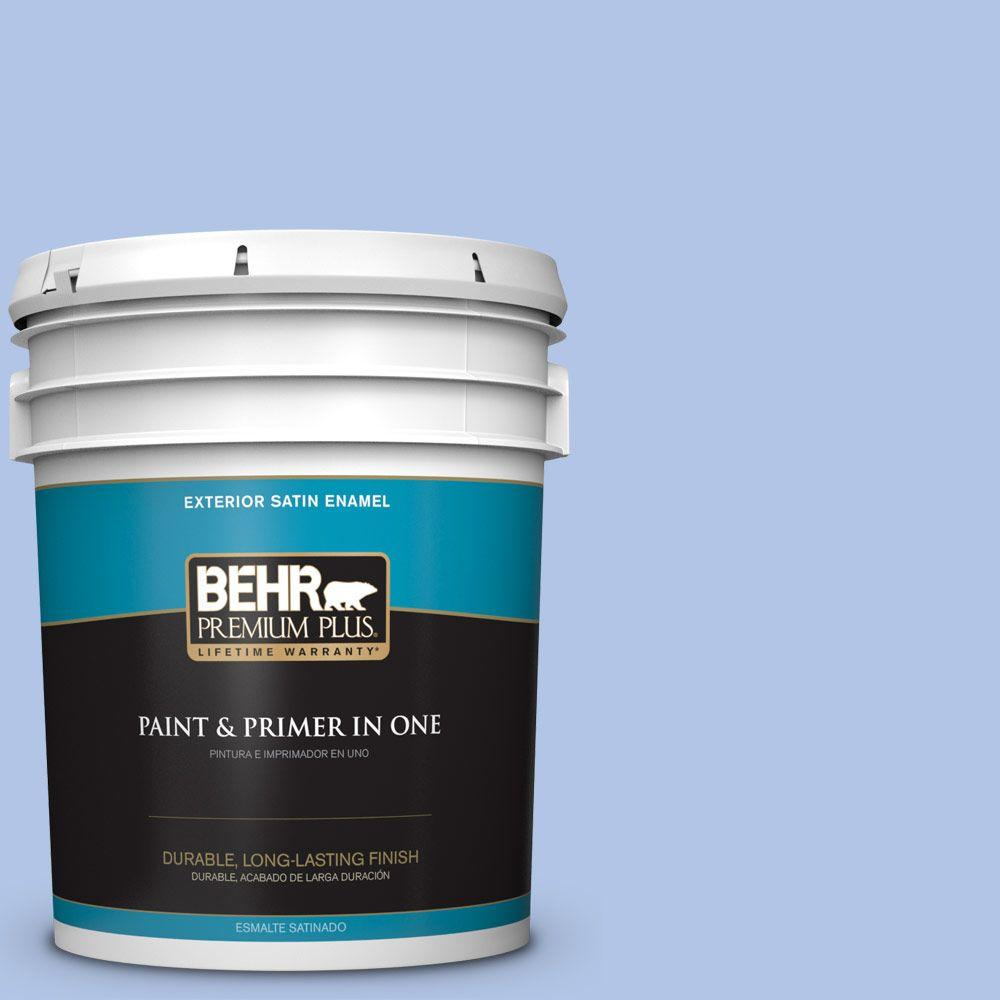 5-gal. #590A-3 Beautiful Dream Satin Enamel Exterior Paint