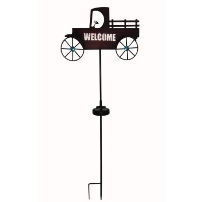 Welcome Truck Solar Stake Light