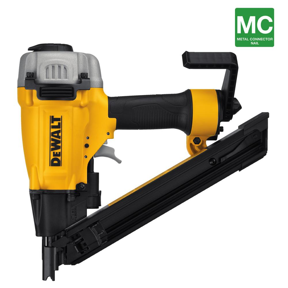 35-Degree Pneumatic Metal Connector Nailer