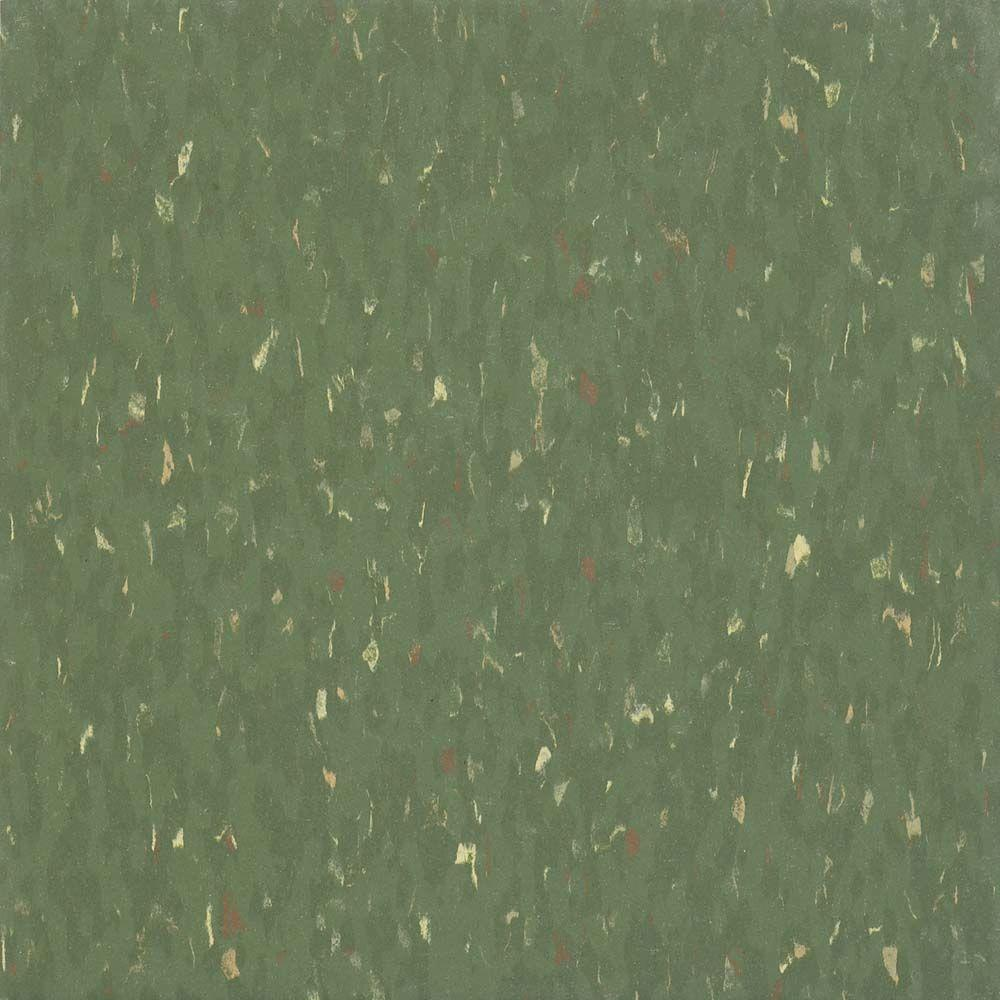 Armstrong Multi 12 in. x 12 in. Acrobat Green Excelon Vinyl Tile (45 sq. ft. / case)