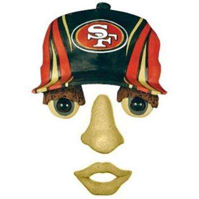 14 in. x 7 in. Forest Face San Francisco 49ers