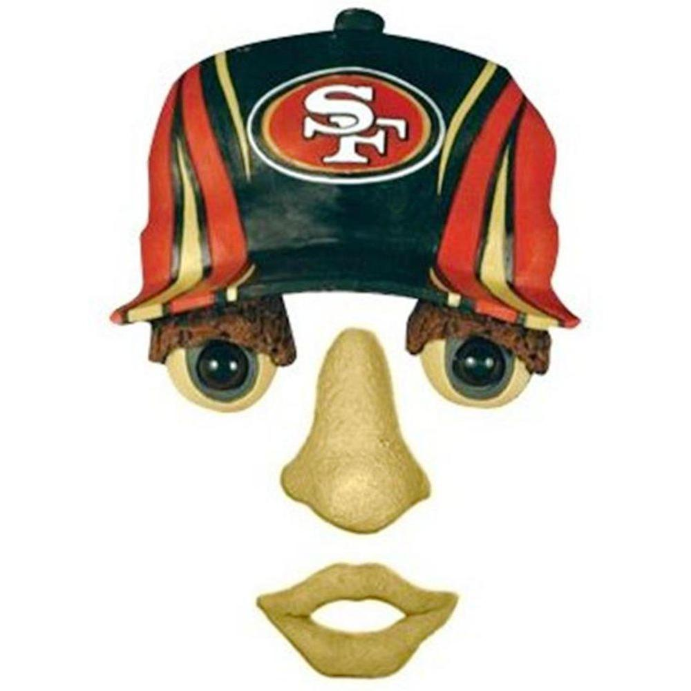 Team Sports America 14 in. x 7 in. Forest Face San Francisco 49ers