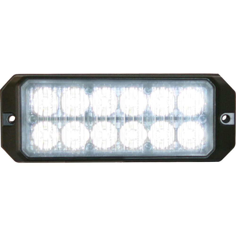 12-Clear LED 5 in. Mini Strobe Light