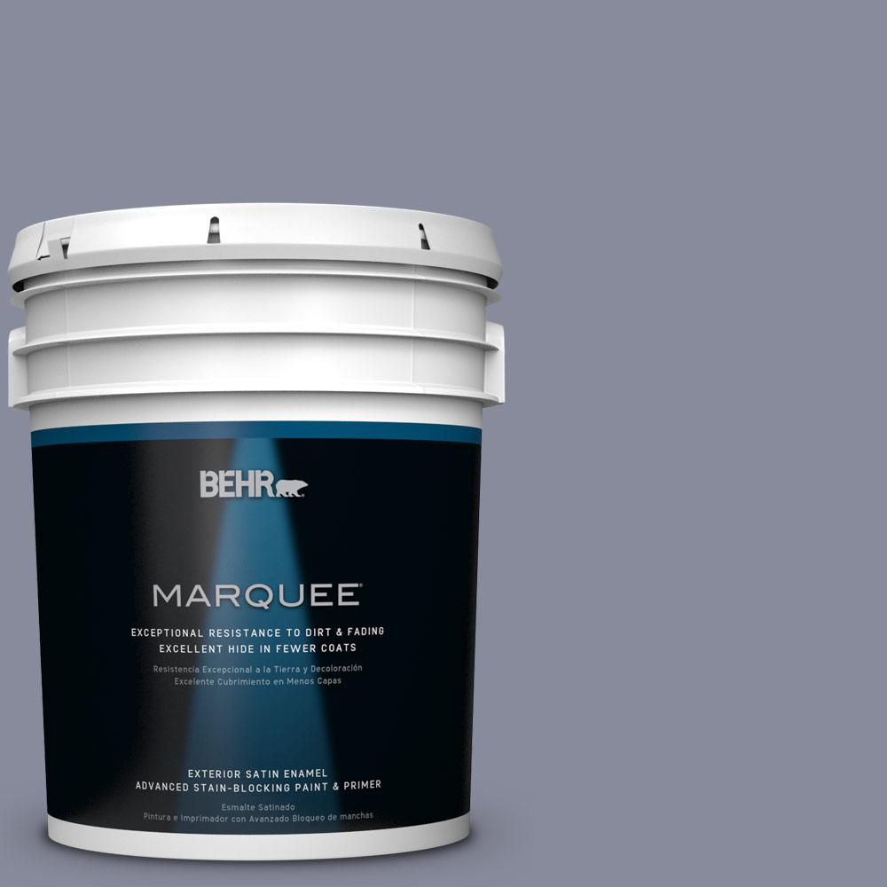 BEHR MARQUEE 5-gal. #PPU15-8 River Tour Satin Enamel Exterior Paint