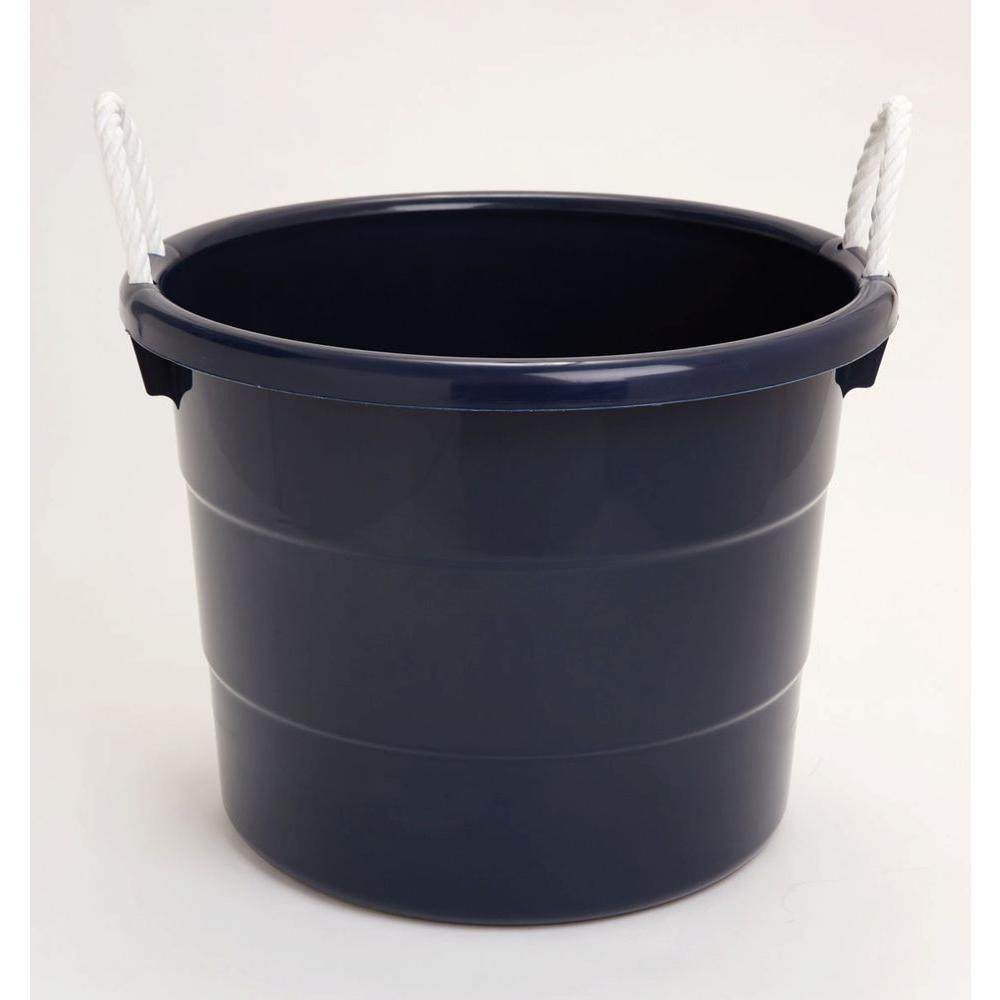 18 Gal Tub With Rope Handle 0402hdrb 08 The Home Depot