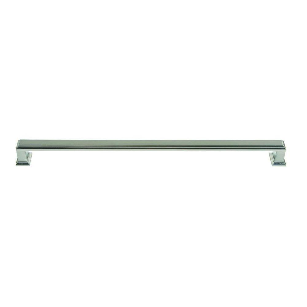 Atlas Homewares Sutton Place Collection 19.6 in. Brushed Nickel Appliance Pull