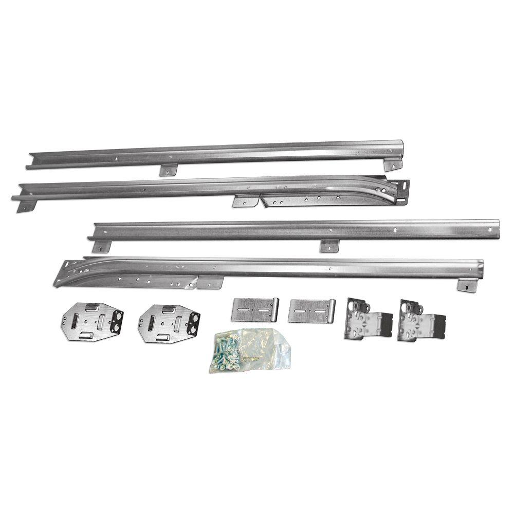 Clopay garage door low headroom conversion kit 4125477 the home clopay garage door low headroom conversion kit rubansaba