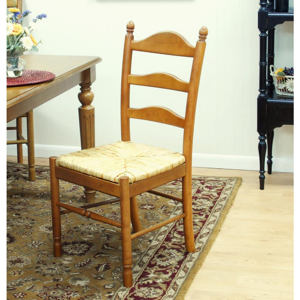 Carolina Cottage Vera English Pine Wood Dining Chair