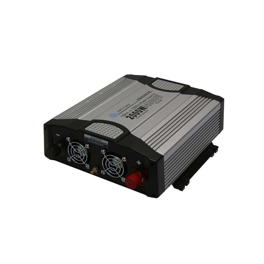 AIMS POWER 2,000-Watt Compact Modified Sine Inverter 12-Volt DC to 120-Volt The compact AIMS POWER 2000-Watt power inverter is designed for small spaces without sacrificing power. Ideal for pumps, small motors, power tools, refrigerators and freezers up to 16 Amp. Make sure to size your inverter for the start up requirements of your equipment. This will prolong the life of your inverter. Don't rely on the surge rating of the inverter. The surge is for protection and the inverter is not intended to run in surge mode.