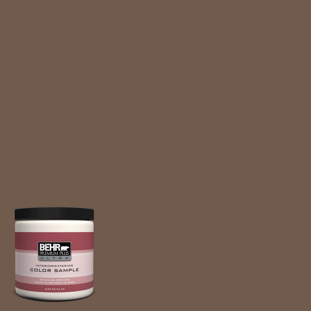 Ppf 52 Rich Brown Matte Interior Exterior Paint And Primer In One Sample