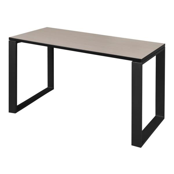 Regency Structure 48 in. x 24 in. Maple/Black Training Table