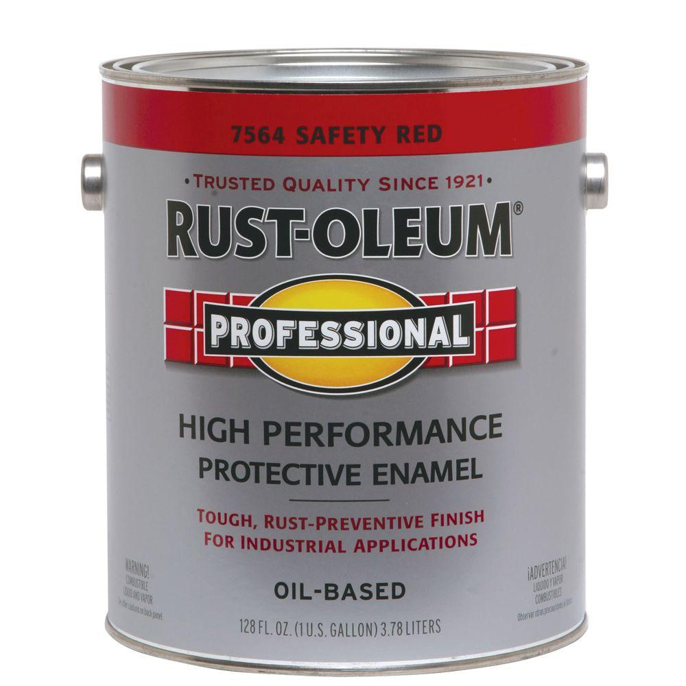Rust-Oleum Professional Safety Red 1 Gallon Paint-DISCONTINUED
