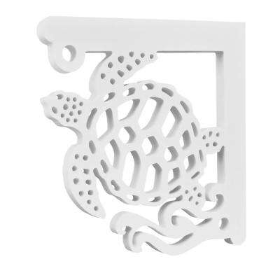 Sea Turtle Architectural Corner Bracket