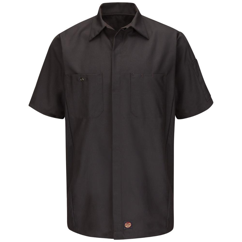 Men's Large Charcoal Crew Shirt