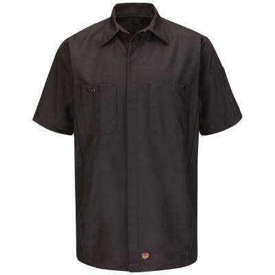 Men's Medium Charcoal Crew Shirt