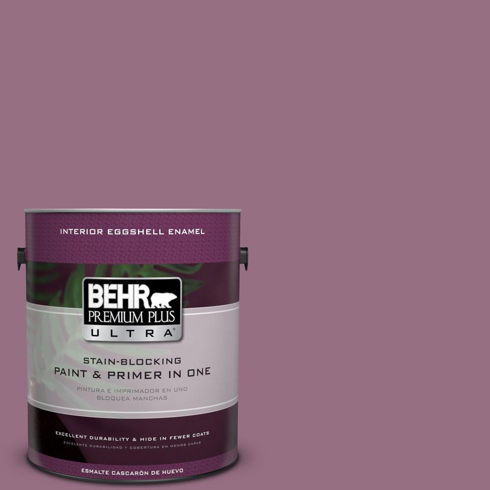 BEHR Premium Plus Ultra 1-gal. #690D-6 Meadow Flower Eggshell Enamel Interior Paint