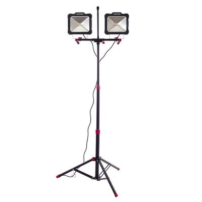 10000lm Twin Head LED Work Light with Tripod