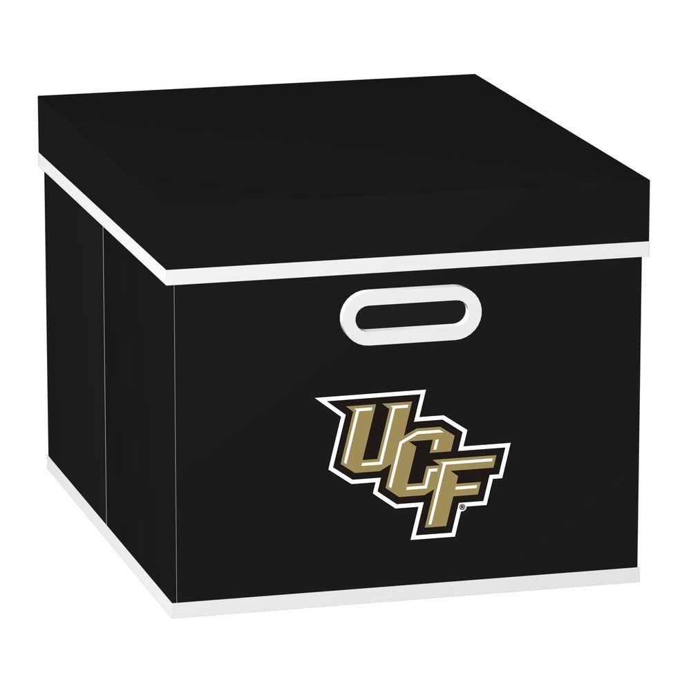 MyOwnersBox College STACKITS University of Central Florida 12 in. x 10 in. x 15 in. Stackable Black Fabric Storage Cube