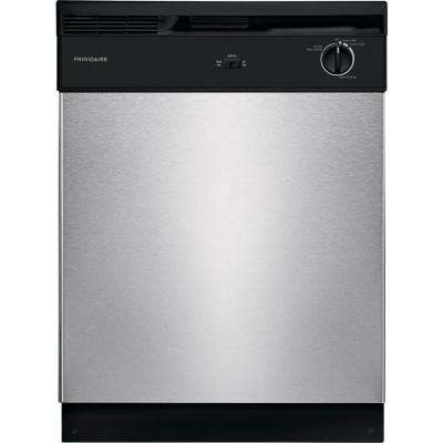 Front Control Build-in Tall Tub Dishwasher in Stainless Steel