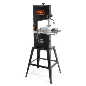 Wen 3.5 Amp 10 inch 2-Speed Band Saw with Stand and Worklight by WEN