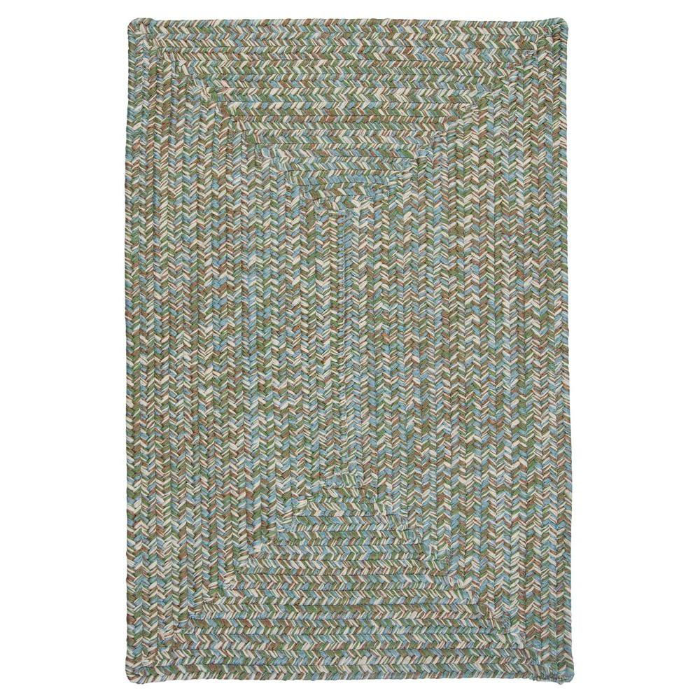 Wesley Seagrass 8 ft. x 8 ft. Rectangle Braided Accent Rug