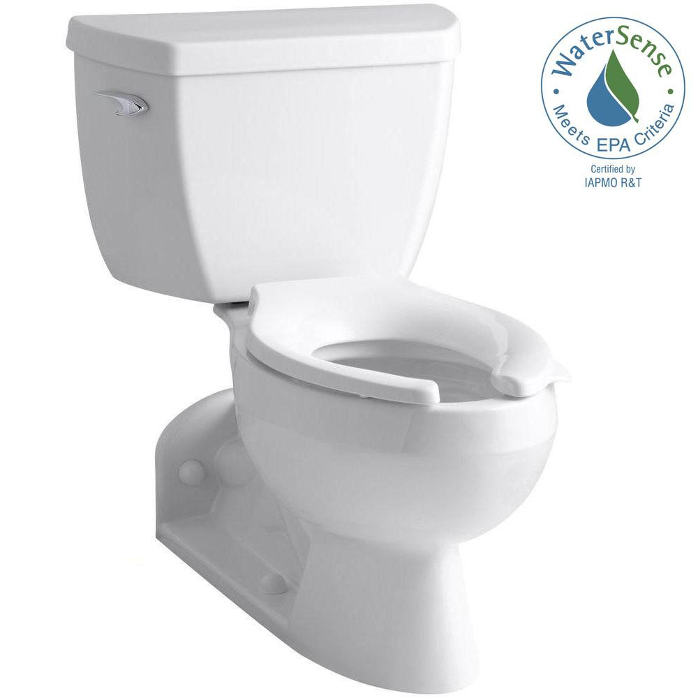 Barrington 4 in. Rough-In 2-piece 1.6 GPF Single Flush Elongated Toilet