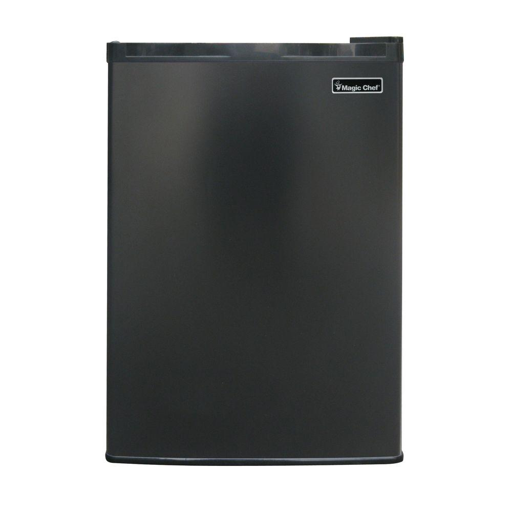 Magic Chef 2.6 cu. ft. Mini Fridge in Black, ENERGY STAR