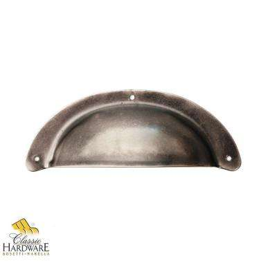 3.78 in. Old Iron Surface Mount Bin Pull